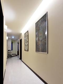 待合室から検査室、診察室